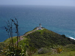 Cape Reinga (Magryciak) Tags: ocean blue sea newzealand sky holiday water landscape outdoors walk roadtrip northisland northland capereinga 2016