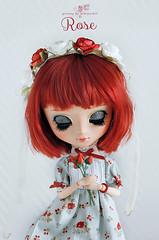 Rose (Mikiyochii) Tags: doll dolls ooak pullip fashiondoll pullips puppe repaint pullipdoll customdoll pullipcustom pullipfullcustom pullipfc