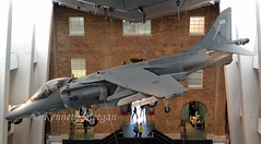 ZD461 (Ken Meegan) Tags: england london museum preserved lambeth raf harrier p51 imperialwarmuseum royalairforce 51a zd461 baeharriergr9a 2242016