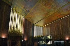 Onyx & Oils (MPnormaleye) Tags: city nyc 1920s windows urban painterly abstract building stone manhattan lobby utata chrysler 24mm deco angular onyx impressionistic