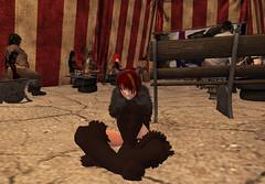 It's Ghoulish Day!6-Koreki (grady.echegaray) Tags: avatar secondlife movies psychedelic zombies yellowsubmarine thebeatles postapocalyptic ghouls digitalfashion redfestival tentrevival virtualfashion