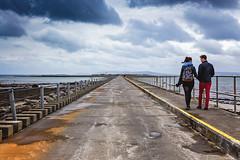 lines #17/52 week challenge (Sigita JP) Tags: people storm galway lines clouds outdoors streetphotography inlove leadinglines westofireland week17 52weekchallange leadtheeye