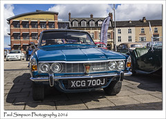 Rover P6 3500s V8 (Paul Simpson Photography) Tags: car spring rover iconic classiccars carshow scunthorpe sunnyday rover3500 photosof imageof photoof imagesof sonya77 paulsimpsonphotography april2015 roverpseries scunthorpecarshow