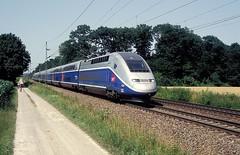 4706  bei Rastatt  30.06.12 (w. + h. brutzer) Tags: france analog train nikon frankreich eisenbahn railway zug trains tgv sncf rastatt 4700 eisenbahnen triebzug triebzge webru