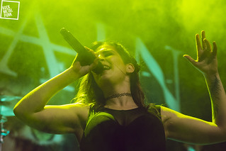 March 28, 2015 // Delain At Dynamo // Shot by Dani Van Riet