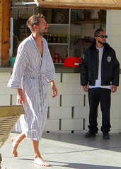 IMG_4824 (danimaniacs) Tags: beard palmsprings bathrobe scruff
