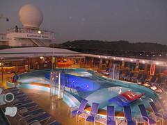 Cruise Life (Dozzam:)) Tags: morning travel cruise holiday sunrise relax swimmingpool cruiseship