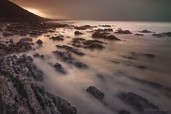 Low Tide at Allt Wen (shawn~white) Tags: ocean longexposure sea beach water wales coast rocks place aberystwyth lowtide ceredigion shawnwhite canon6d