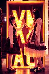SDF_0847 (SendoFu) Tags: bonnet ボンネット エプロン風スカート blouse bl ブラウス headbow kc カチューシャ bnt 蕾絲 維多利亞 jsk op onepiecedress ワンピース jumperskirt ジャンパースカート nop lolita lolitafashion 蘿莉塔 蘿莉塔時裝 ロリータ・ファッション sweetlolita classicallolita