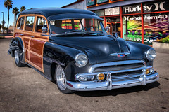 1951 Chevrolet Custom Deluxe Tin Woody Wagon (*Ken Lane*) Tags: auto usa classic chevrolet car vintage fletcher geotagged classiccar vintagecar automobile unitedstates outdoor antiquecar woody northcarolina voiture retro chevy vehicle nostalgic antiqueautomobile oldcar photoart carshow topaz d800 automvil carphotography vendimia wnc woodie  carart americancar classicauto  vintageautomobile  westernnc westernnorthcarolina classicautomobile vehculo vhicule hendersoncounty  collectorcars fletchernc classicvehicle nikonphotography worldcars  1951chevrolet mba    topazfilter topazsimplify  topazsoftware buzsim buzsimfilter fletchernorthcarolina photoshopcs6  kostaskitchen  topazbuzsimeffect geo:lat=3542732457 geo:lon=8250237553 1951chevroletcustomdeluxetinwoodywagon