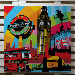 Pop Art | London | Lobo (Lobo - Pop Art) Tags: london artwork popart artistabrasileiro lobopopart artistalobo popartnobrasil