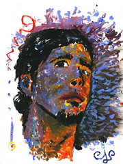 Volutas Mgicas (Alejandro Lpez Gonzlez) Tags: me self retrato portait yo expressionism expressionist autorretrato voluta expresionista expresionismo