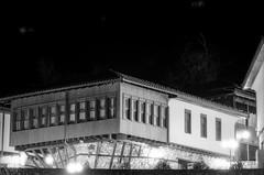 Skopje (Custom Illusion) Tags: city panorama white black film monochrome lights nikon 300mm macedonia 100 pan f3 nikkor ilford skopje ilfordpan100 filmisnotdead film:brand=ilford film:iso=100 developer:brand=adox adoxadonal film:name=ilfordpan100 developer:name=adoxadonal filmdev:recipe=10573