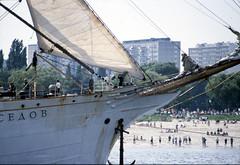 Sedov (larry_antwerp) Tags: port sailing ship belgium belgi vessel 1993 antwerp schelde  antwerpen sedov  schip                       7946356             eurosail93 thecuttysarktallshipsrace
