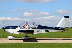 G-CCMO (GH@BHD) Tags: eurostar aircraft aviation microlight laa ev97 sywell evektoraerotechnik sywellairfield evektor laarally gccmo laarally2015