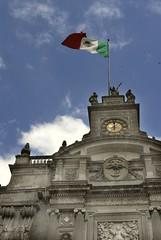 Pizano3 023 (photocenter48) Tags: mxico iglesia bandera mjico