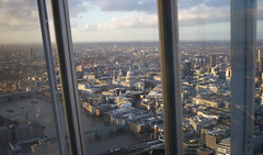 The View from the Shard - London (SE9 London) Tags: city uk winter england london saint st thames skyline river observation europe cityscape view cathedral britain united great piano kingdom pauls deck february shard southwark renzo sellar