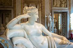 Paolina Bonaparte - Canova (giualia) Tags: travel roma villa museo canova borghese paolina