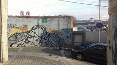 Porto Graffity / Streetart 11 (rocknrolltheke) Tags: city bridge urban streetart portugal graffiti cityscape outdoor graffity porto brcke oporto 31365