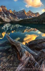 LOG IN (fotoflatratech) Tags: park chris lake canada reflection landscape rockies glow canadian national alberta banff alpen moraine acaso dako 500px babida ifttt bisayang fotoflatrate