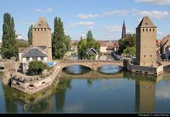 Ponts Couverts, Strasbourg, France (JH_1982) Tags: bridge france building tower monument architecture river frankreich towers bridges frana landmark strasbourg ill alsace architektur strasburg francia gebude elsass ponts estrasburgo  historique strassburg strasburgo   couverts