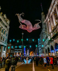 London - A Flying Fish over Piccadilly ( Les Lumineoles Display) ( Lumiiere London) Panasonic Lumix LX100 Compact (4) (markdbaynham) Tags: street leica urban london art westminster les lens lumix display central illumination piccadilly panasonic lumiere fixed metropolis compact lx londoner londonist lx100 2475mm f1728 lumixer lumineoles