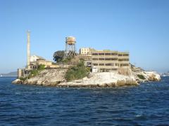 Alcatraz (dckellyphoto) Tags: california old chimney concrete island watertower ruin prison jail alcatraz sanfranciscobay 2008 derelict decaying ramshackle sanfranscisco