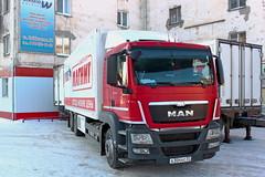MAN TGS28.360  A 304 KC 37 (RUS) (zauralec) Tags: auto street man k retail chain kc 37 304 rus    magnit kurgan a      tgs28360  myagotina