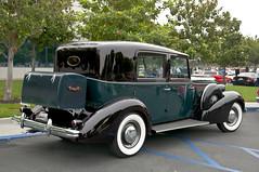 1937 Buick Brewster Roadmaster Limousine, rear (Pat Durkin OC) Tags: buick whitewalls brewster limousine coachbuilt series80