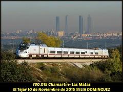 idn6318 (ribot85) Tags: madrid railroad train tren trenes diesel trains railways patito electrico renfe 730 hibrido eltejar integria 730015