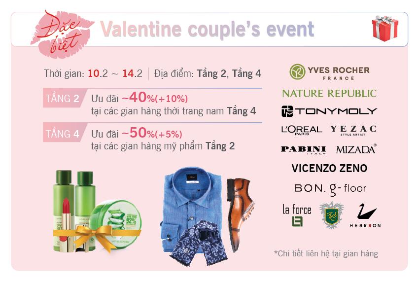 Valentine couple's event