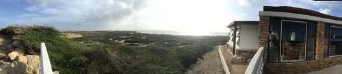 panorama of area near California Lighthouse
