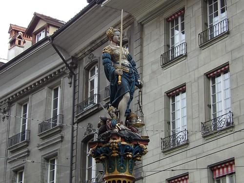 Les célèbres fontaines de Berne