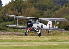Swordfish (Bernie Condon) Tags: plane vintage flying aircraft aviation military navy ww2 fairey strike torpedo preserved bomber biplane warplane swordfish rn royalnavy rnhf