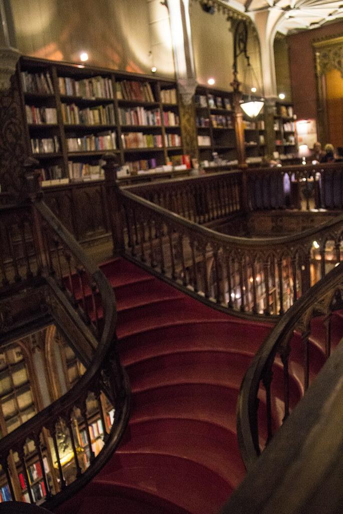 Escadaria Lello