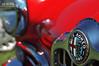 Milan's Finest (Hi-Fi Fotos) Tags: red italy milan vintage emblem italian nikon classiccar coatofarms antique milano style chrome badge alfa romeo sportscar pvgp d5000 hallewell hififotos