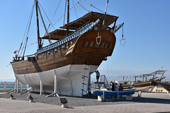 Oman - 2015-1403a (MacClure) Tags: museum boat sur oman dhow ghanjah