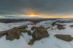 Higger Tor Snow (Twiggy's Photography) Tags: