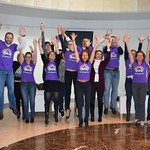 SOBI raising hands for rare disease day 2016