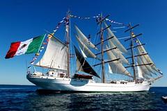 #FotoDelDa Zarpa Buque Escuela Cuauhtmoc (Candidman) Tags: del marina mexico foto fotos acapulco escuela candidman da buque guerrero marinos cuauhtmoc mxico