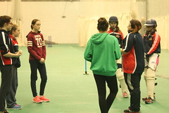 Girls U13 and U15 Indoor Training 2016