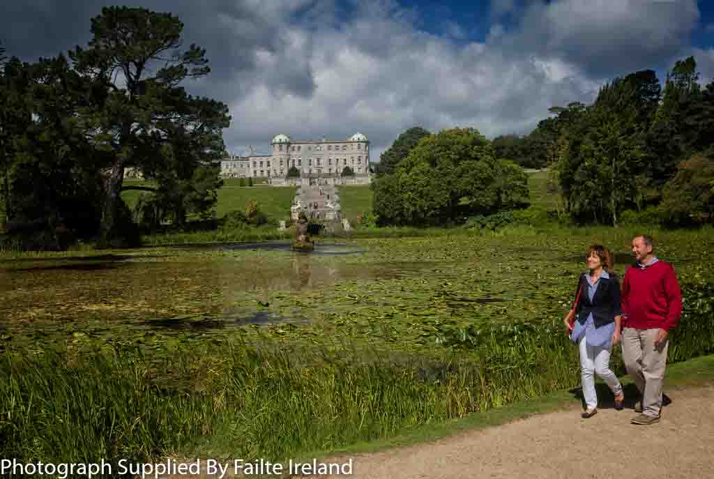 County Wicklow - Powerscourt House and Gardens