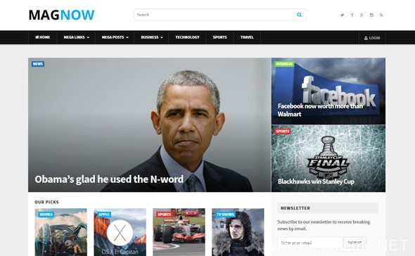 MagNow - Fully Customizable Magazine WordPress Theme