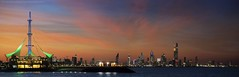 Kuwait at evening time (khalid almasoud) Tags: city sea sky urban clouds flickr sony estrellas kuwait photographyrocks 55210mm ilce5100