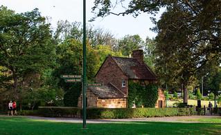 Cook's Cottage Fitzroy Garden in Melbourne