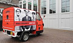 Amsterdam, De Hallen - Godfather's Kitchen 01 (Markus Lske) Tags: holland netherlands amsterdam ape godfather piaggio niederlande dehallen piaggioape lueske lske