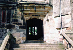 Skipton.  May 25th. 1997 (Cynthia of Harborough) Tags: castles architecture steps 1997 entrances
