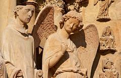 L'ange au sourire de la cathdrale de Reims (jjcordier) Tags: sculpture champagne ange cathdrale reims sourire