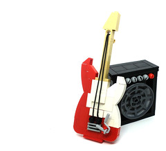 Let's ROCK! (2 Much Caffeine) Tags: lego guitar amp moc rockyoursocksoff itgoesupto11 ironbuilder