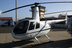 ZS-HCS Robinson R.44 II AV8 Helicopters @ Ysterplaat 24-Sep-2010 by Johan Hetebrij (Balloony Dutchman) Tags: africa cn african south helicopter ii helicopters robinson airfield 2010 airbase afb aad av8 ysterplaat r44 10045 zshcs